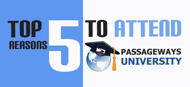 5 Reasons to Attend Passageways University
