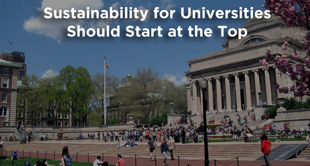 Sustainability for Universities