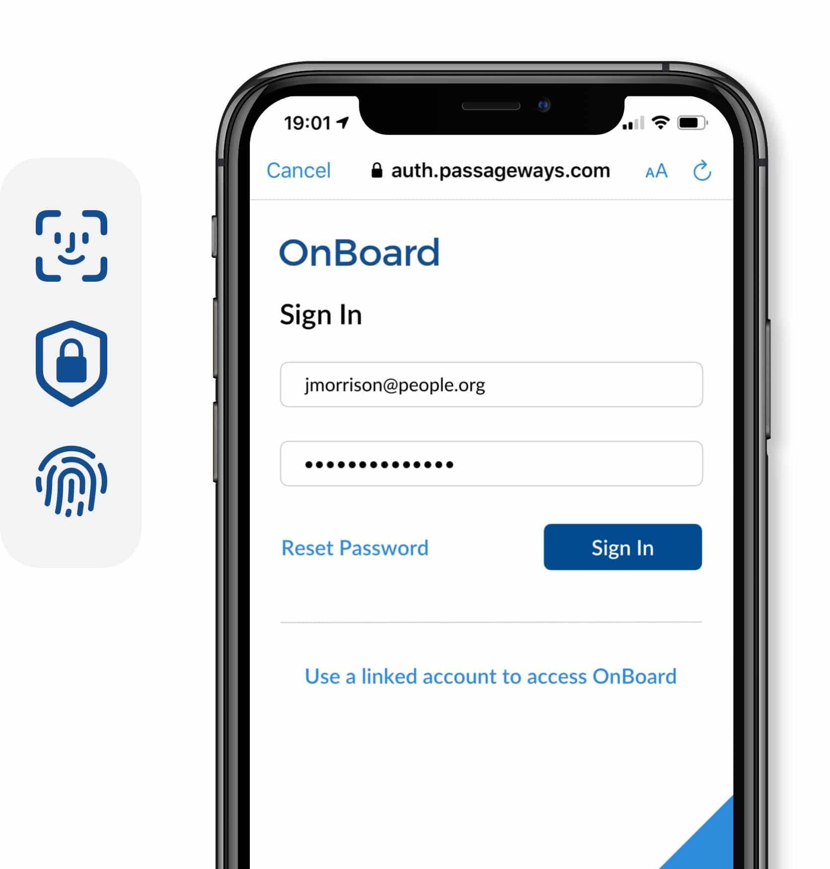 OnBoard Security Login