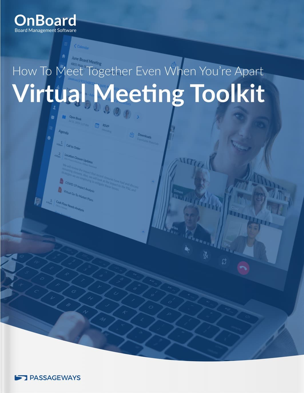 Virtual Meeting Toolkit Dark Cover