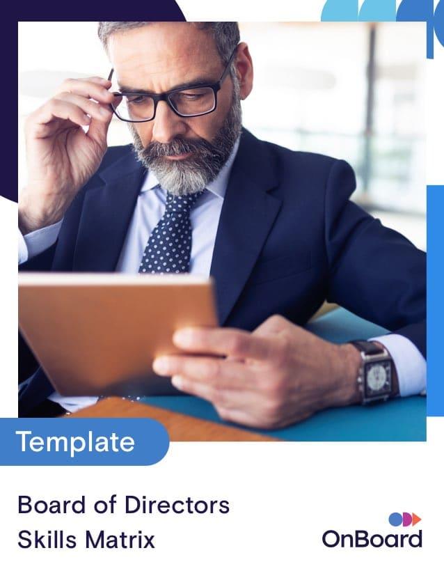 Board of Directors Skills Matrix