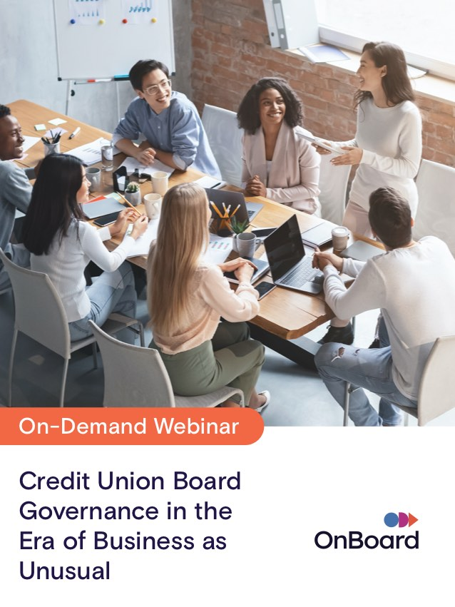 How Credit Unions Will Succeed in the Era of Business As Unusual