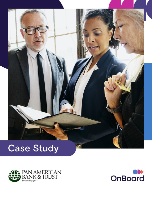 Pan American Bank Trust Case Study