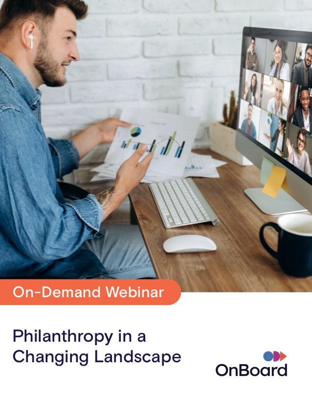 Philanthropy in a Changing Landscape