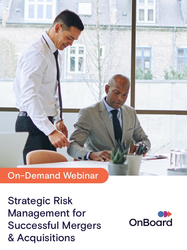 Strategic Risk Management for Successful Mergers & Acquisitions