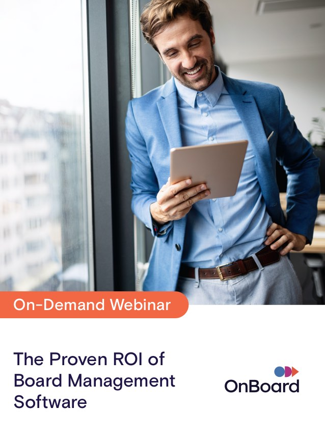 The Proven ROI of Board Management Software