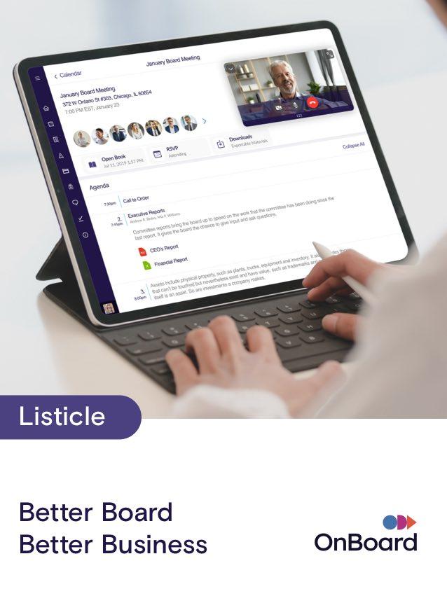 Better Board Better Business Listicle