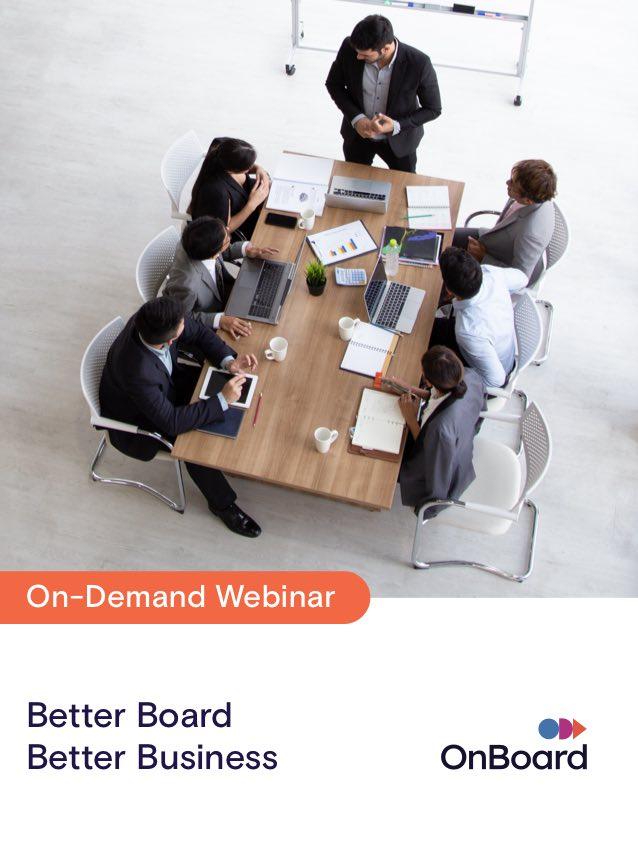 Better Board Better Business On Demand