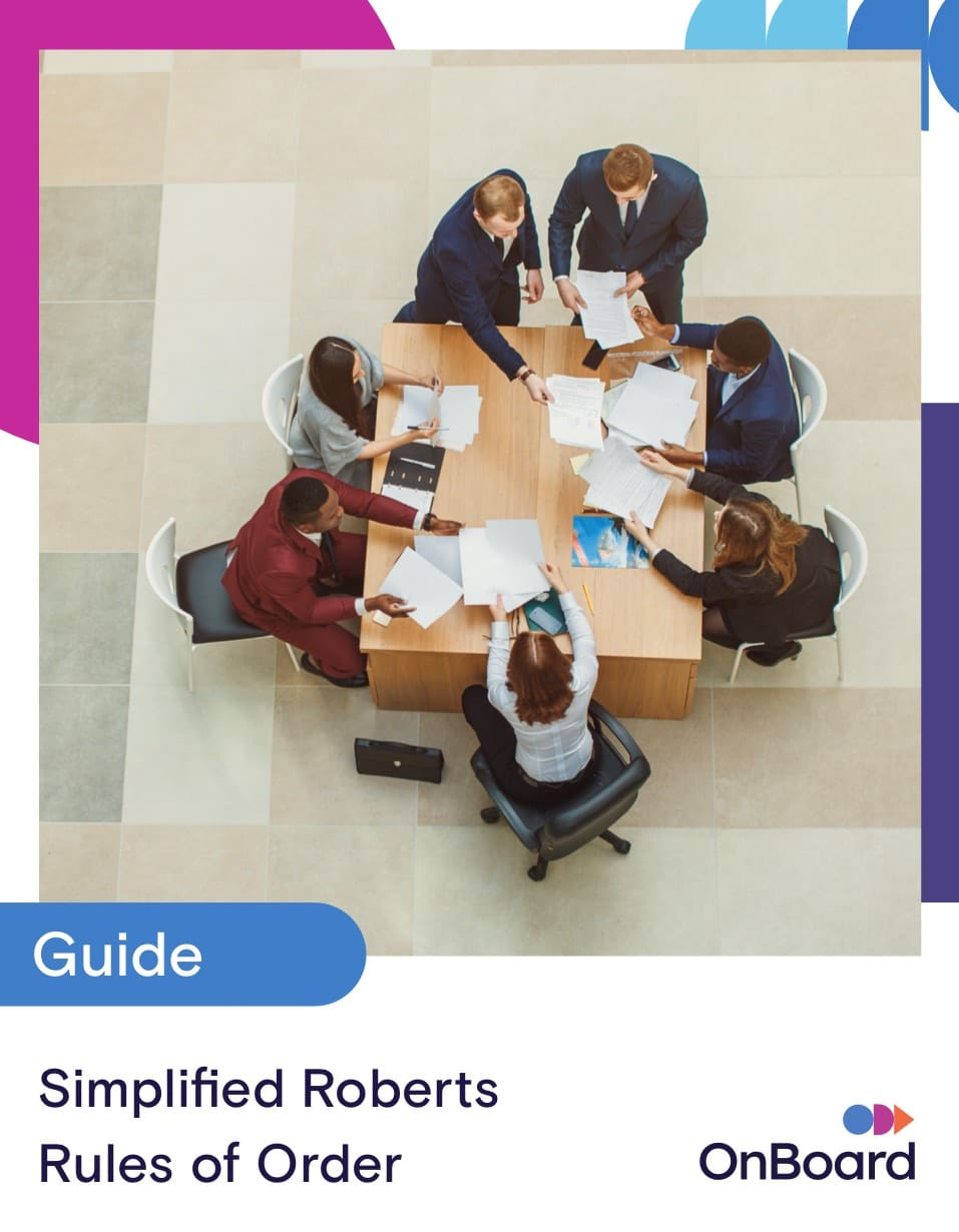 A Modern Guide to Robert's Rules of Order