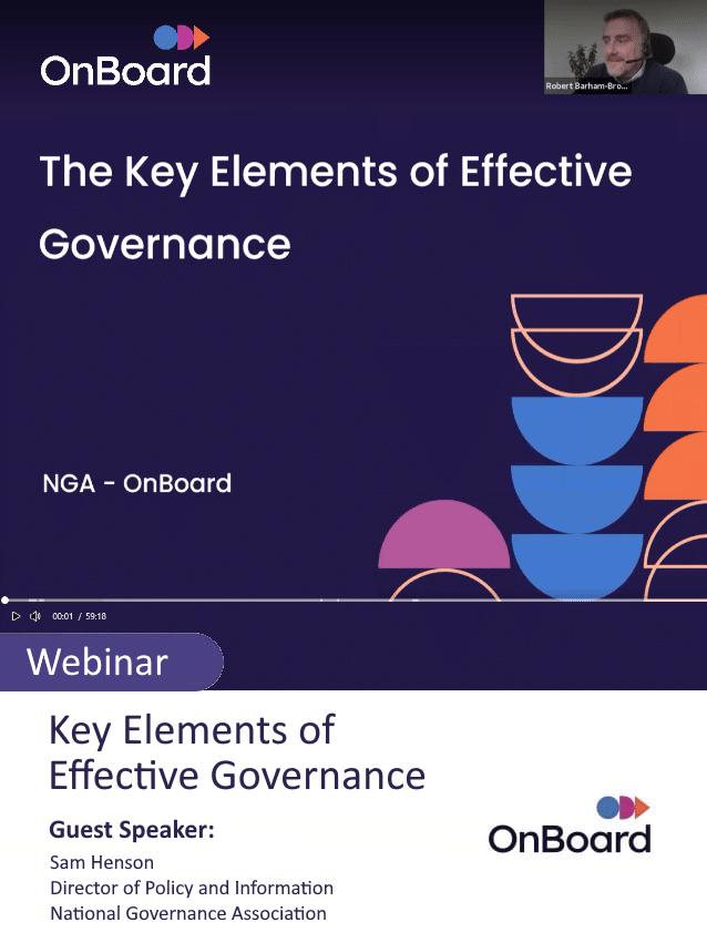 Key Elements Of Effective Governance