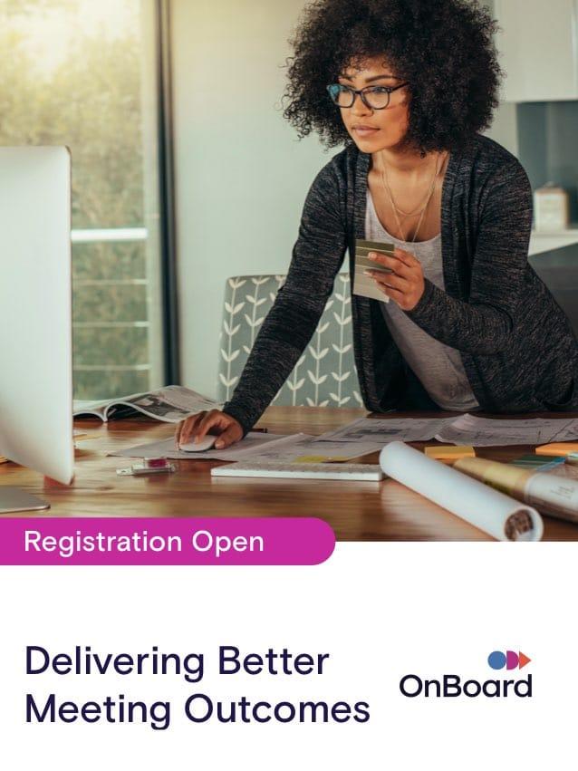 Delivering Better Meeting Outcomes & Minutes Management | October 5 @ 1:00 PM EST