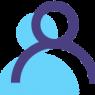 Person-Human-Profile-Connect-Collaborate-Icon-Blue